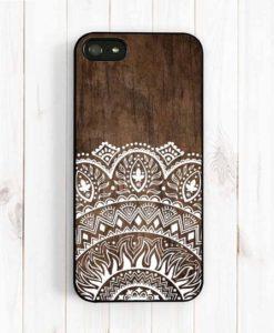 Kryt na iPhone s dreveným motívom