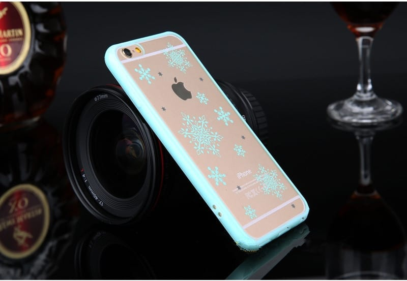 Púzdro Transparent Green iPhone 6   6s - Obal na iPhone 4a035d97f00