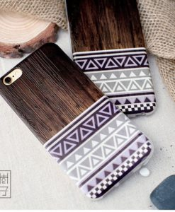 Púzdro Wooden22 s imitáciou dreva iPhone