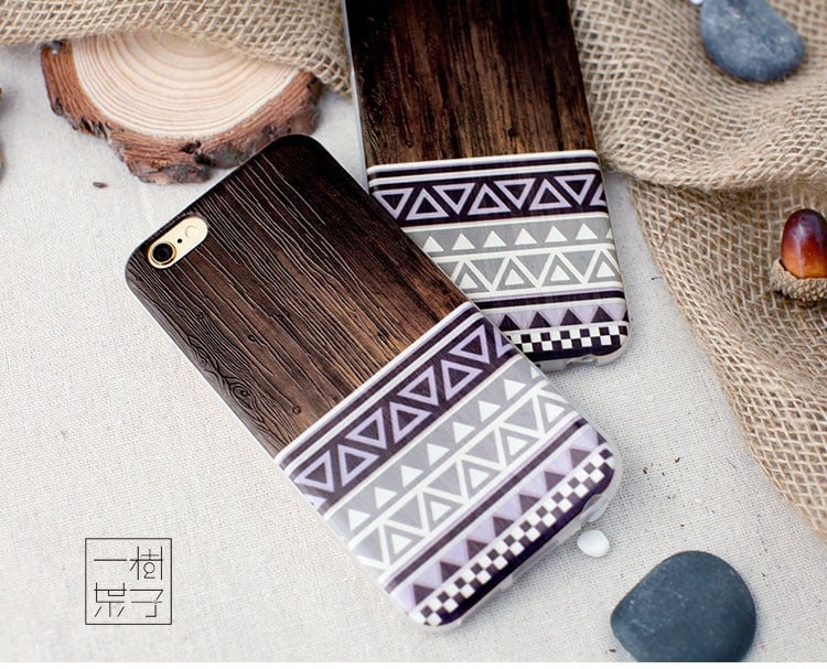 Púzdro Wooden22 s imitáciou dreva iPhone 6   6s - Obal na iPhone c031d0d1821