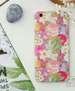 Púzdro FlowersLive iPhone