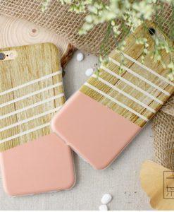 Silikónový obal Wooden36 iPhone