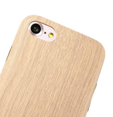 Kryt na iPhone 7 s dreveným motívom svetlo hnedý. Domov ... 1121f0bcd54