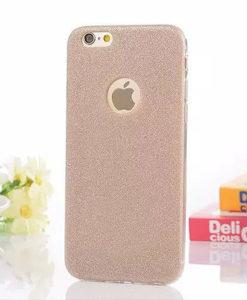 Trblietavý zlatý obal na Iphone 6