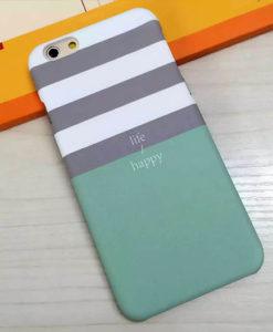 Obal na iPhone Life/happy zelený