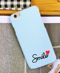 Štýlový obal na iPhone Smile