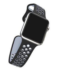 Športový gumený náramok na Apple Watch