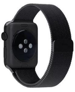 Náramok pre Apple Watch čierny