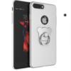 Obal na iPhone 7 z oceľovým úchytom biely