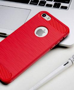 Červený silikónový kryt