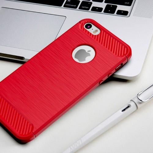 Kryt zo silikónu na iPhone 8 červená