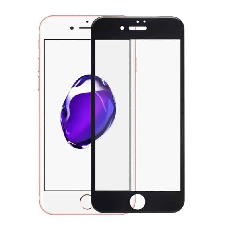 Ultra tenké tvrdene sklo na iPhone 6/6s black