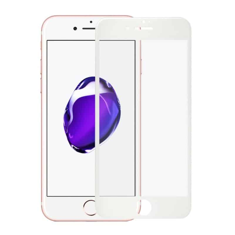 Ultra tenké tvrdene sklo na iPhone 6/6s white