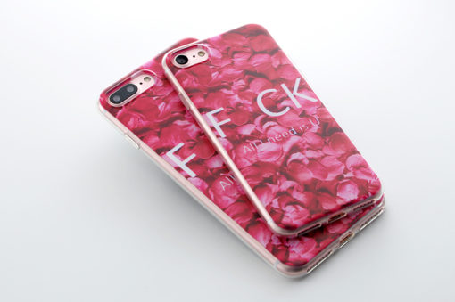 Silikónový obal na iPhone 7 Potlač F*CK