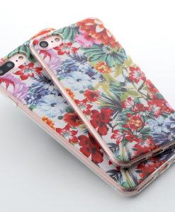 Silikónový obal na iPhone 7 Potlač - Garden