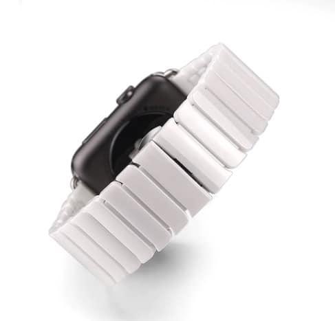 Keramický remienok na Apple Watch - Biela