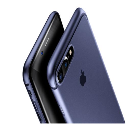 Obal na iPhone 7 a 7 plus Baseus Blue