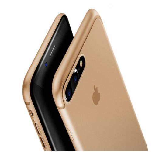 Obal na iPhone 8 a 8 plus Baseus Gold