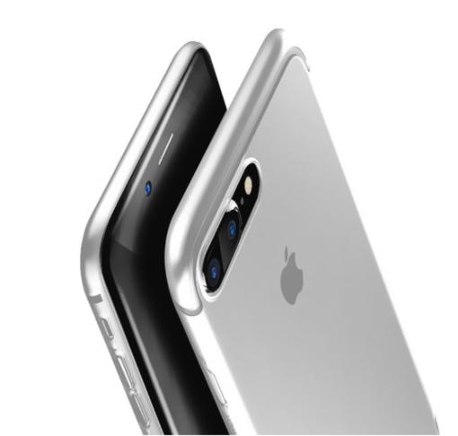 Obal na iPhone 8 a 8 plus Baseus Gray