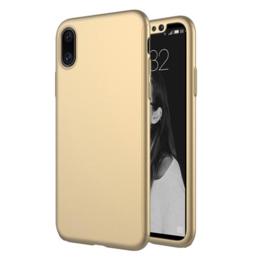 Obal pre iPhone X Gold