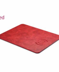 Červená nabíjacia podložka