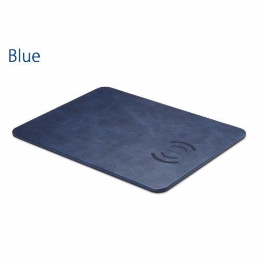 Modrá nabíjacia podložka