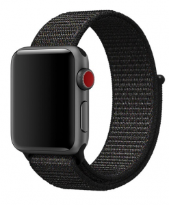 Remienky pre Apple Watch - Dark Black
