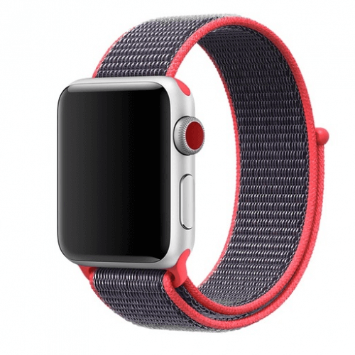 Remienky pre Apple Watch - Neon red
