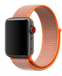 Remienky pre Apple Watch - Peach orange