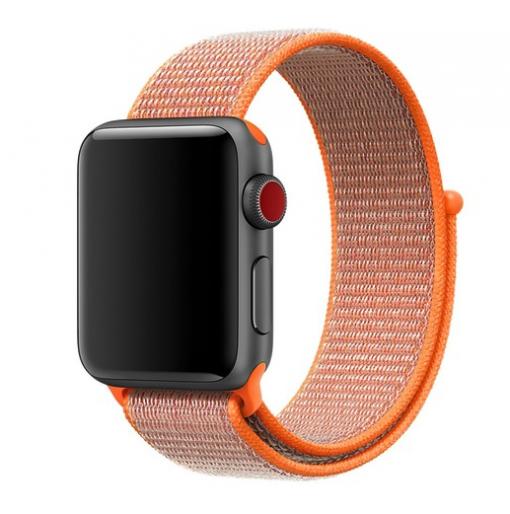 Remienky pre Apple Watch - Peach orange