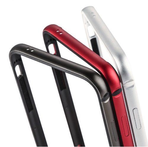 Hliníkový bumper pre iPhone X - 4 farby